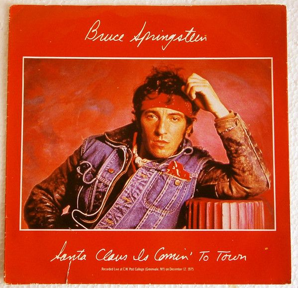 Bruce Springsteen Christmas.Santa Claus Is Coming To Town Inspired By Bruce Springsteen